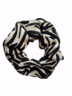 Scrunchie Amber zebra