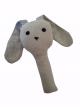 Rammelaar konijn Nienke grijs