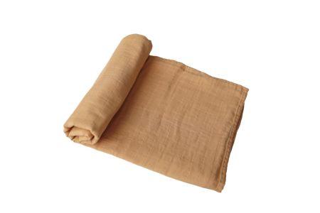 Mushie hydrofiele doek XL - Mustard