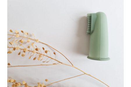Vingertop tandenborstel blue