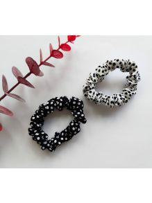 Scrunchie Black & White