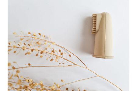 Vingertop tandenborstel naturel