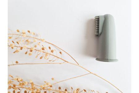 Vingertop tandenborstel grey