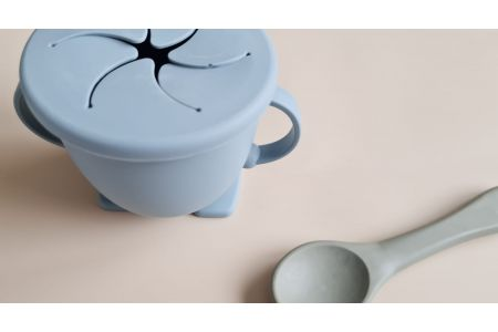Snack cup blue