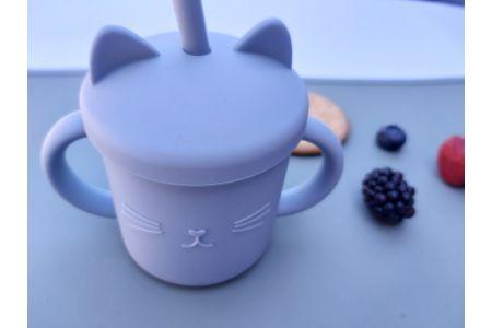 Rietjesbeker Kat Blue
